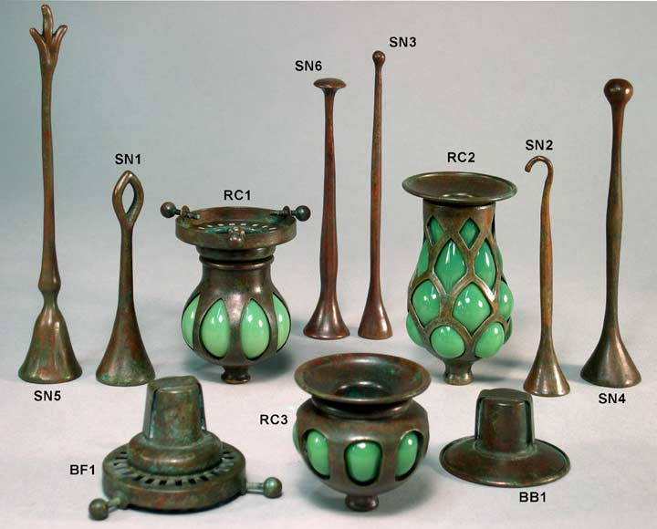 Paul crist studios tiffany hardware candlestick parts mozeypictures Image collections
